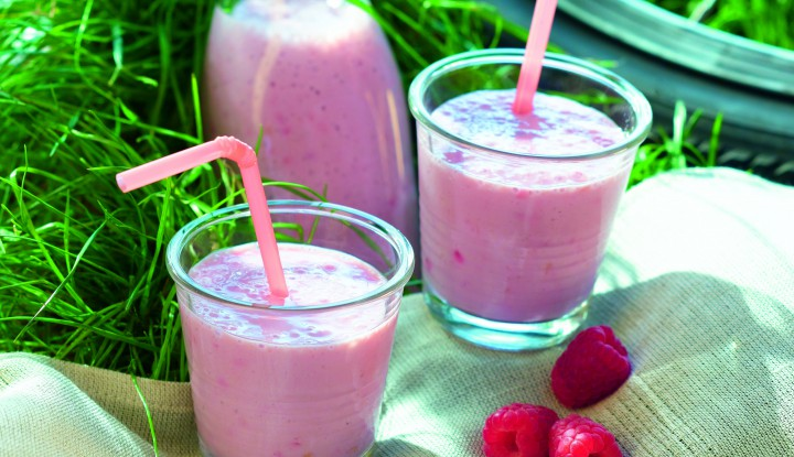 Smoothie framboise-passion