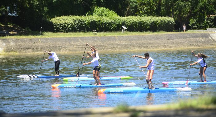 stand up paddle SUP balade sur lac